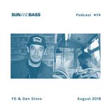 Sun And Bass Podcast #74 - FD & Dan Stezo