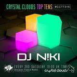 DJ N!ki - Crystal Clouds Top Tens 316