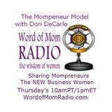 #WoMMarch Week 1 on The Mompreneur Model Show with Dori DeCarlo