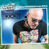 DJ  KICKIT - SPRINGBREAK Europe 2015
