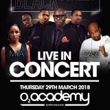 Blackstreet X Mya X Case @ The O2 Academy Birmingham 29th March 2018