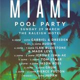 Gabriel & Dresden - Live @ Anjunabeats Pool Party, Rayleigh Hotel, MMW 2015 - 29.03.2015