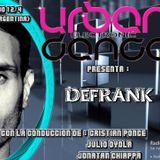 Urban Electronic Dance. Programa del sábado 12/4 en Radio iRed HD. #SET #EnVivo de DJ Defrank.