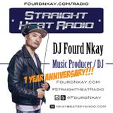 Straight Heat Radio - November 2016 1 Year Anniversary - DJ Fourd Nkay X WestsideFlip