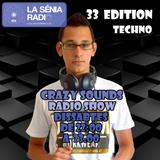 Joan Barrera DJ - Crazy Sounds Radio Show 33 @LaSeniaRadio