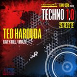 TEO HAROUDA - Live @ Hard²Core presents TECHNO 1.0 (Aquarius A1, Zagreb - 26.10.2012)