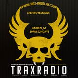 Darren_m Fab 30 TECHNO SESSIONS TRAX RADIO
