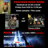 FASCHING ROCK SHOW SPECIAL JACQUI TAYLOR AND THE PIECES OF MIND