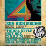 KON x RICH MEDINA - Live at Ol' Dirty Sundays 4 Year Anniversary - 5.24.15