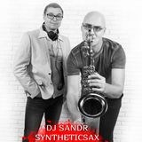 Syntheticsax & Dj Sandr - Funky House Sax (Live mix from THIS CAFE)