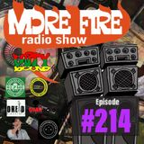 More Fire Radio Show #214 Week of March 29th 2019 with Crossfire from Unity Sound
