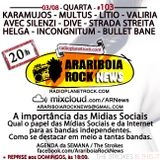 # 103 Arariboia Rock News - 03.08.2016