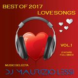 BEST OF 2017 LOVE SONGS - LE PIU' BELLE CANZONI D'AMORE DEL 2017