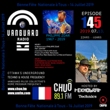 TEKNOBRAT On Episode 145 Of Vanguard Pulse Radio on CHUO 89.1 FM + CJUM 101.5 FM 2019-07-13th
