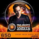 Paul van Dyk's VONYC Sessions 650 - SHINE Ibiza Guest Mix from Jardin