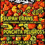 La.Selva>radioshow ! 07/10/2014. DJ's. Kaygee. SUPAH FRANS. PONCHITA PELIGROS. Silly Tang
