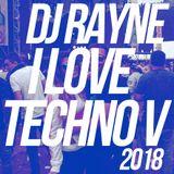 Dj Rayne - I Love Techno V (2018 Vinyl Set)