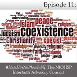 #HateHasNoPlaceInNJ - The NJOHSP Interfaith Advisory Council