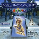 Dollar with MC Presha at Accelerated Culture 7 (April 2002)