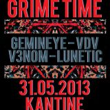 Grime Time Promo Mix 31.05.2013