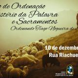 Mensagem Culto de Ordenação do Rev. Tiago Nogueira de Souza