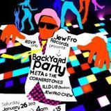 Rock-N-Dance Radio -- JewFro Records Party @ The Paper Box, Williamsburg, NYC -- 01.26.2013