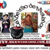 Programa Caldeirão de Mistérios nº 01 - 06/04/2015 Wilma Mazzoni e Marisa Petcov