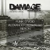 Funk D Void  -  Live At Damage Music Berlin Labelnight, Suicide Circus (Berlin)  - 16-Jan-2015