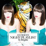Antidote night playlist by Brigitte