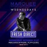 Live at Marquee NYC 10-21-15