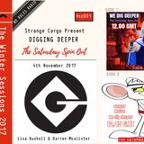WE DIG DEEPER #Cassette One 04.11.17 Lisa Bushell & Danger Mouse