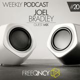 FreeQNCY Podcast # 20 Mixed by Joel Bradley