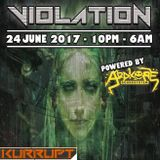 Violation Promo Mix - Dj Kurrupt | Hard Drum And Bass / Jungle