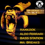 MTG Exclusive For The Breakbeat Show Mixed By Hankook - Aldo Ferrari - Bass Station - Mr Breaks