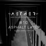 AETHER Guest Mix #10 - ASPHALT LAYER  [ Dusk Dubs / Quadrant Soundscape ] (Ambient / Dub Techno)