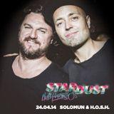 SOLOMUN & H.O.S.H. dj set at Stardust _ Club Haus 80's Milano _ 24.04.2014