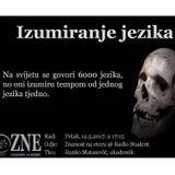 Znanost na eteru - Jezici koji izumiru - 12.5.2017.