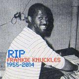 Frankie Knuckles - Friday Night Jams On 102.7FM WBMX - 31-10-1986