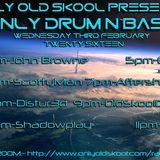 Only Drum N Bass Night - Scotty Mann