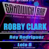 DJ ROBBY CLARK LIVE @ SANDWICH BAR ORLANDO, FL