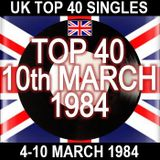 UK TOP 40: 4-10 MARCH 1984