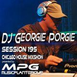 dj Georgie Porgie MPG Radio Show 195