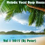 Melodic Vocal Deep House Vol 1 2015 (Dj Peter)