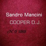 Sandro Mancini - Cooper DJ N.6 1988 live