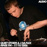 Quiet Storm (Caspa) & J Da Flex - Rinse FM - 17/10/2006