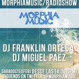 Morphia music radio show con dj Franklin Ortega Rincon