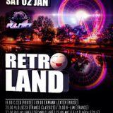 Retroland Dj C.ced 02-01-2016 House 132 bpm