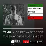 Simone Vitullo - Go Deeva Records Radio #011 (Yamil Mix) (Underground Sounds Of Italy)