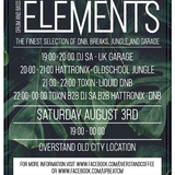 Hattronix Old School Jungle at Upbeat Elements2 3rd August 2019