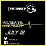 Concept - Favourite Prog-Trance July 18 (11-07-2018)